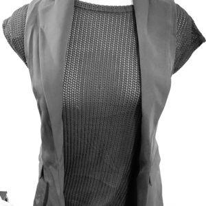 Zara women's business blazer vest, size S